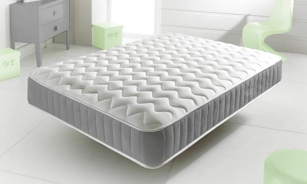 Starlight Beds Cool Blue Memory Foam Sprung Mattress With