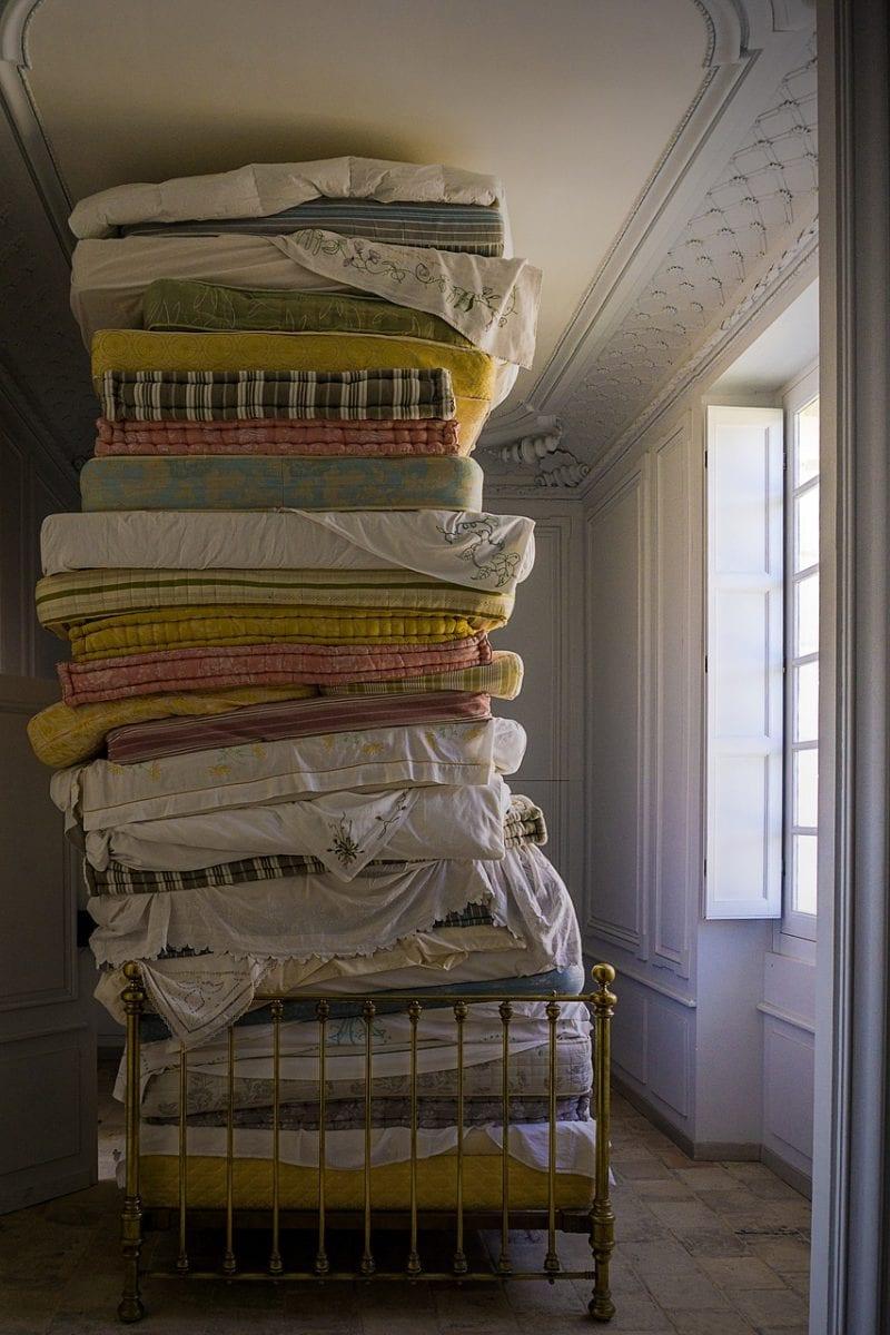 Piled up Mattress